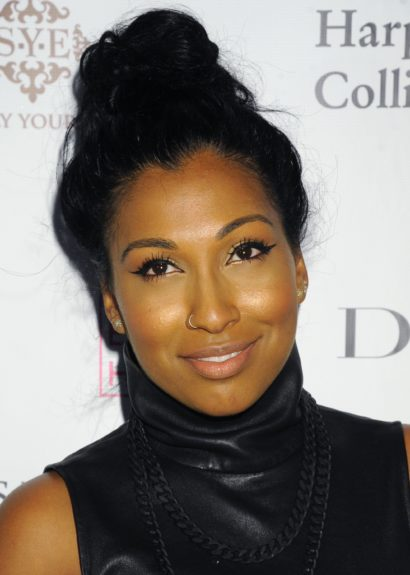R&B songstress Melanie Fiona looked gorgeous at Wendy's launch party