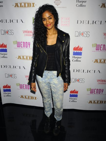 Designer and party promoter Vashtie Kola stopped by to show love and support