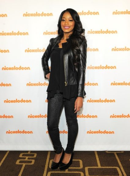 KeKe Palmer went for an edgy ensembleto support Nickelodeon