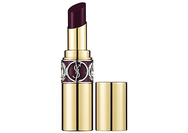 "Vamp lips are a hit this fall. Try YSL's Rouge Volupte Shine Lipstick in Dark Violet, $34.00 at <a href=""http://www.sephora.com/product/productDetail.jsp?keyword=ysl%20dark%20violet&skuId=1485895&productId=P377710&_requestid=169076"" target=""_blank"">www.sephora.com</a>"