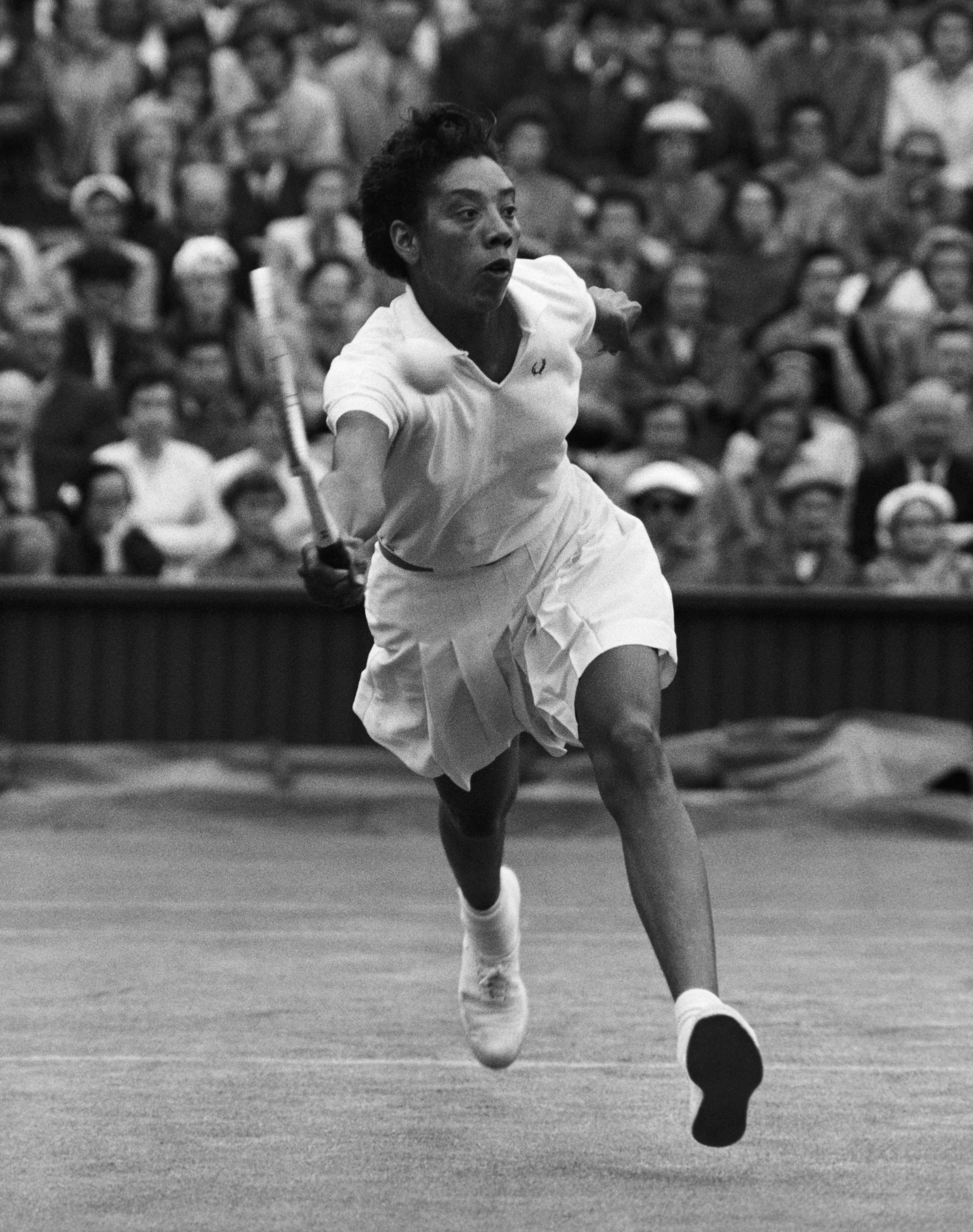 Althea Gibson, 1st Black Woman to Win Grand Slam, 8.25.27- 9.28.2003