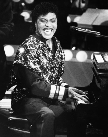 Little Richard at the American Black Achievement Awards 1986.  (Isaac Sutton/EBONY Collection)