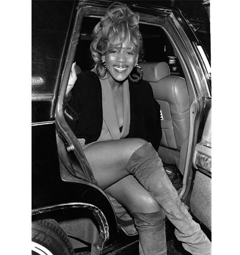From the EBONY Collection, Toukie Smith is photographed as she exits a car. (Fred Watkins) View the entire EBONY Collection by selecting STORE in the upper right corner of the homepage.