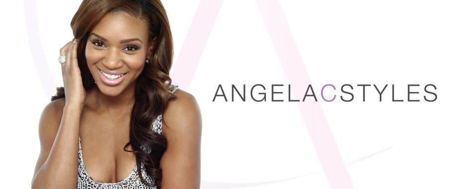 "Angela Christine specializes in weaves and gives style sessions on her YouTube channel, <a href=""http://www.youtube.com/AngelaCStyles"" target=""_blank"">AngelaCStyles</a>!"