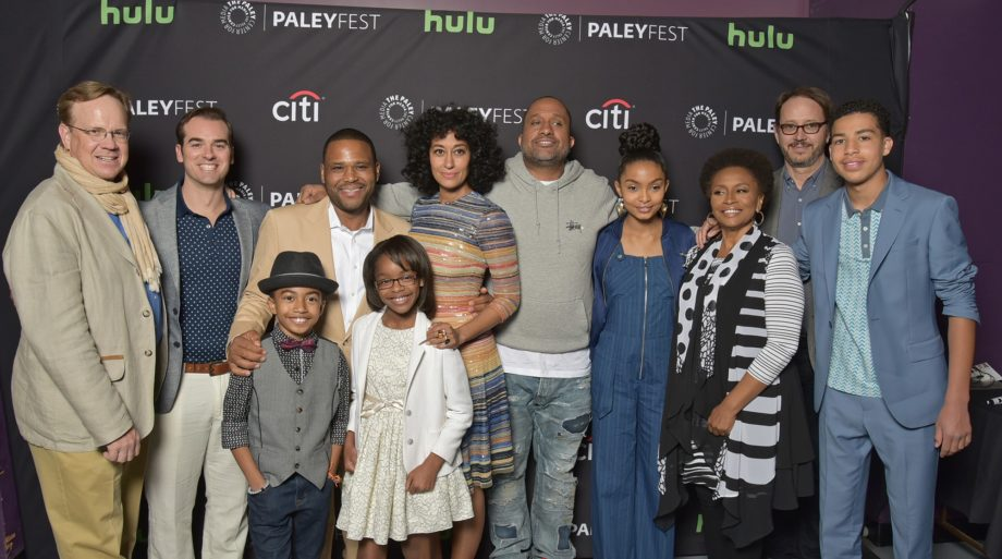 <p> 	Cast and creatives of black-ish (Photo: Michael Bulbenko for the Paley Center)</p>