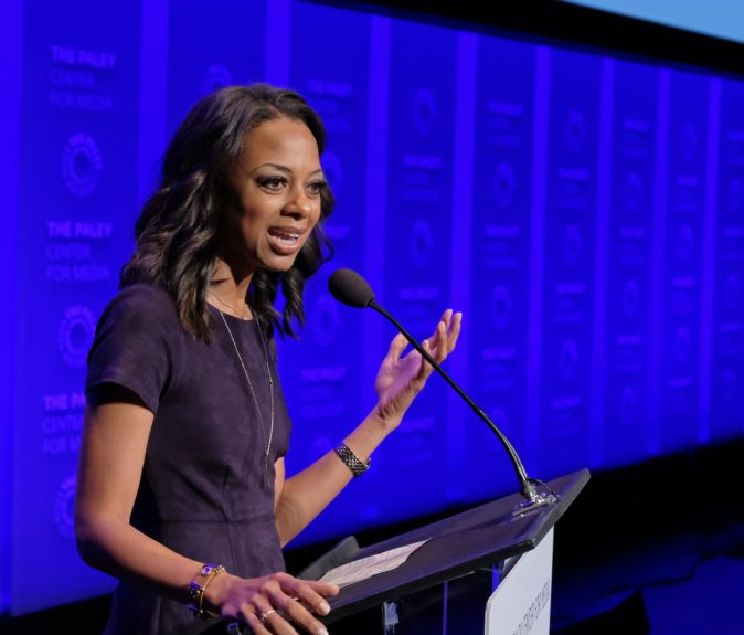 <p> 	Nichelle Turner (Photo: Michael Bulbenko for the Paley Center)</p>