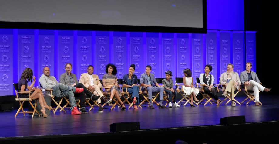 <p> 	Nichelle Turner with the cast and creatives of black-ish at PaleyFest LA 2016 (Photo: Michael Bulbenko for the Paley Center)</p>