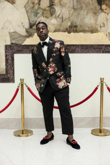 Style curator and 5001 FLAVORS's designer Louis Johnson. Jr.  Photography by Adama Delphine Fawundu
