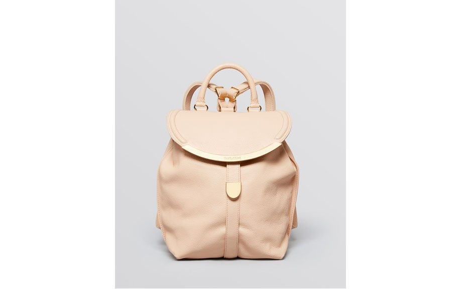 """For her: See byChloéLizzie Convertible Backpack, $495, <a href=""""http://bit.ly/1r7Iyoc"""" target=""""_blank"""">www.bloomingdales.com</a>"""
