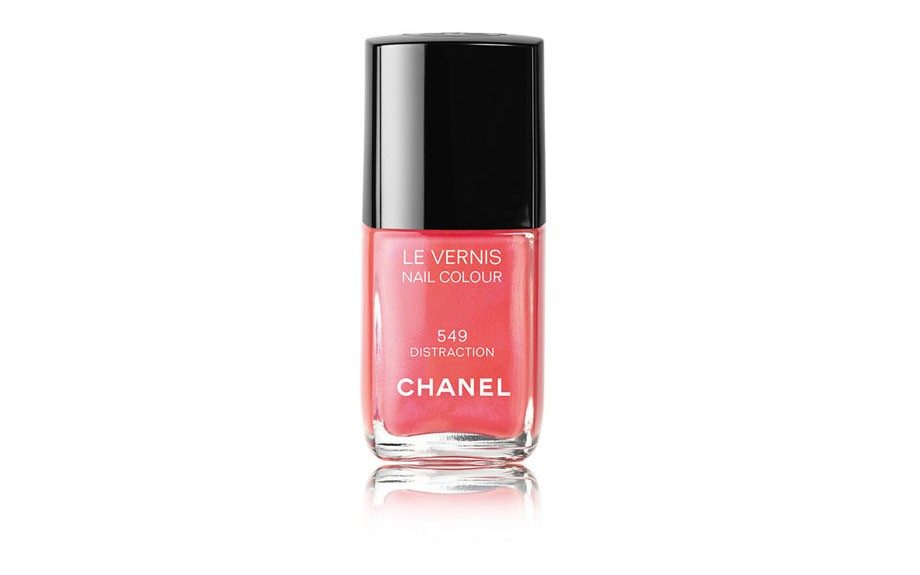 """Step three: Choose a good color.Try <a href=""""http://shop.nordstrom.com/s/chanel-le-vernis-nail-colour/"""" target=""""_blank"""">Chanel LeVernisNailColour</a>($27; nordstrom.com)"""