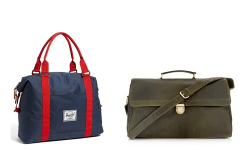 Cheap and Chic: Weekend Bags for Men