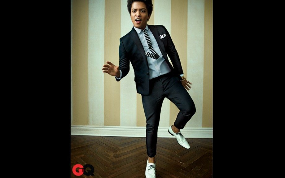 Bruno Mars has an undeniable elegance to his style, and we love him in this suit at his recent photo shoot. Photo: <em>GQ</em>magazine