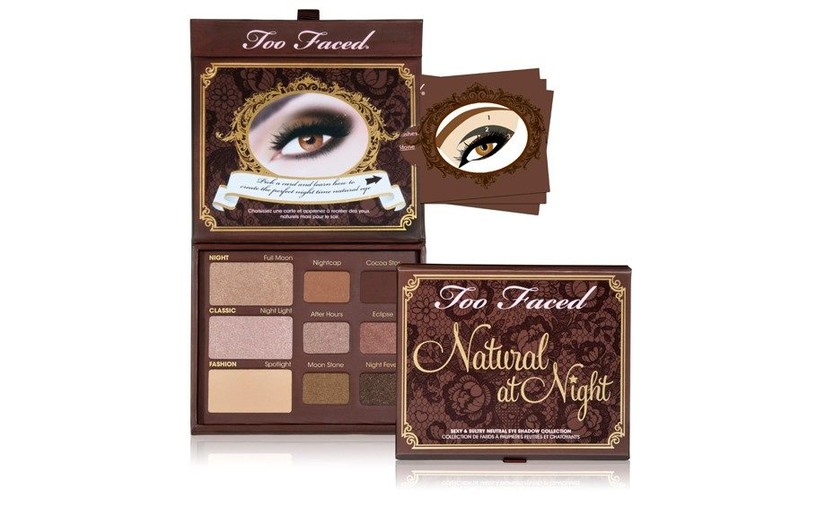 """Too Faced Natural At Night Sexy & Sultry Neutral Eye Shadow Collection (<a href=""""http://toofaced.com"""" target=""""_blank"""">toofaced.com</a>, $36.00)"""