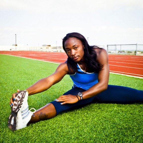 <strong>10. Bianca Knight -- Track & Field</strong>  	<em>Photo courtesy of biancaknight.com</em>