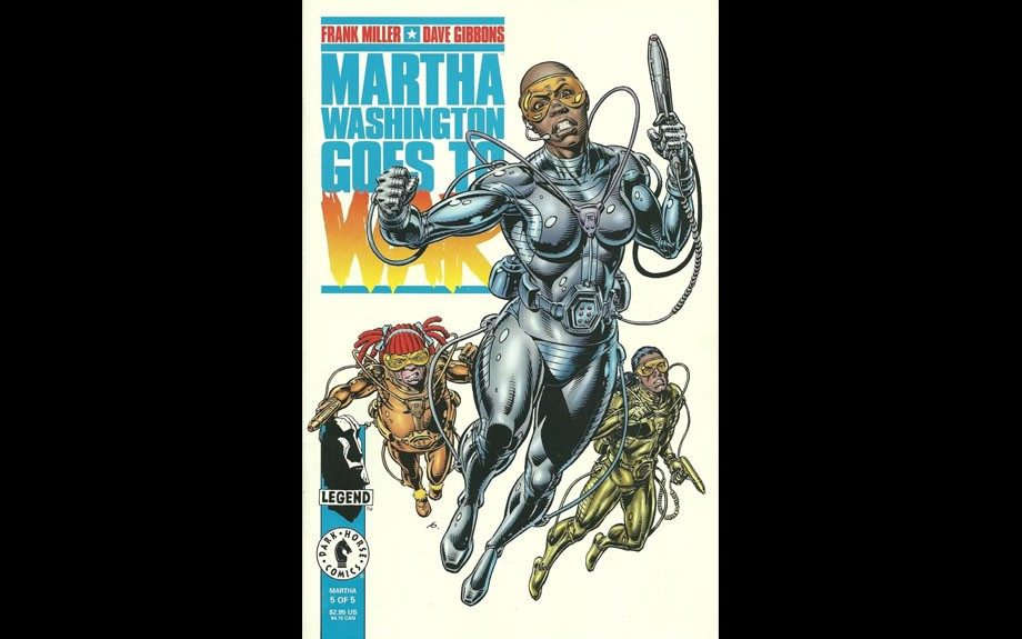 <em>Martha Washington Goes to War</em> was a 1994 mini-series focusing on this warrior from Chicago's Cabrini-Green projects fights for justice on behalf of the PAX Peace Force during America's <em>second</em> Civil War of the future.