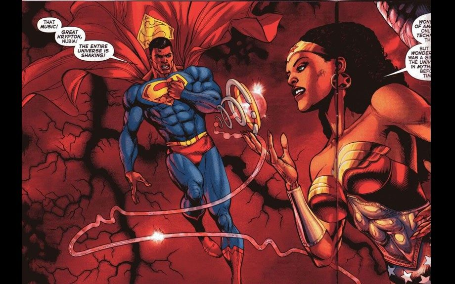 Yes, there are sisters on Wonder Woman's Paradise Island. Nubia is one of them, and she kicks butt just as hard as DC Comics' most famous Amazon princess.