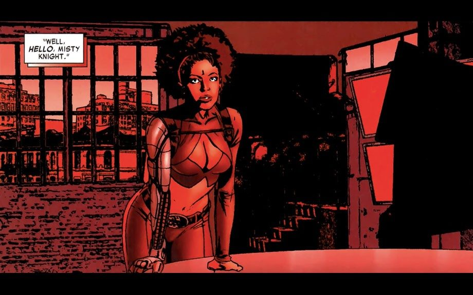 Misty Knight first appeared in Marvel Comics' <em>Marvel Premiere</em> #20 back in 1975. A key character in<em>Power Man and Iron Fist</em>, Knight was a major player in the kung-fu and blaxploitation-influenced series.