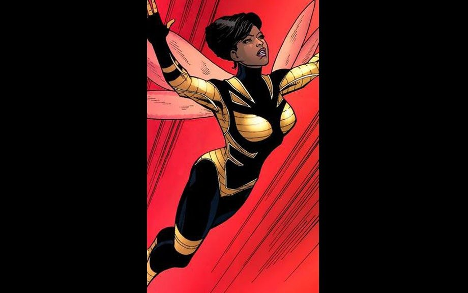 Bumblebee, a member of DC Comics' <em>Teen Titans</em> series during the 1970s, was the company's earliest African-American superheroine.