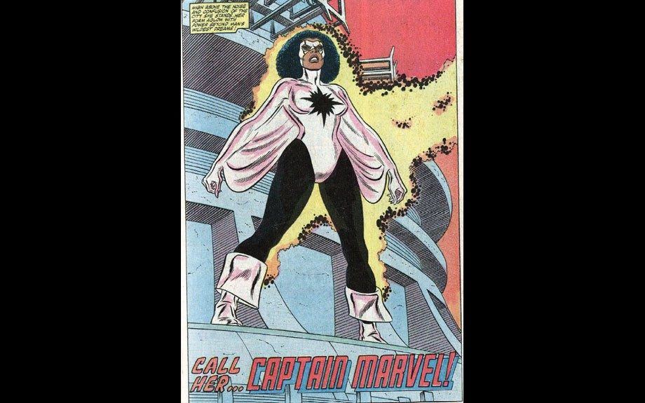 Captain Marvel is one of many Marvel Comics characters with the same name, but became the first African-American woman to assume the identity back in 1982.