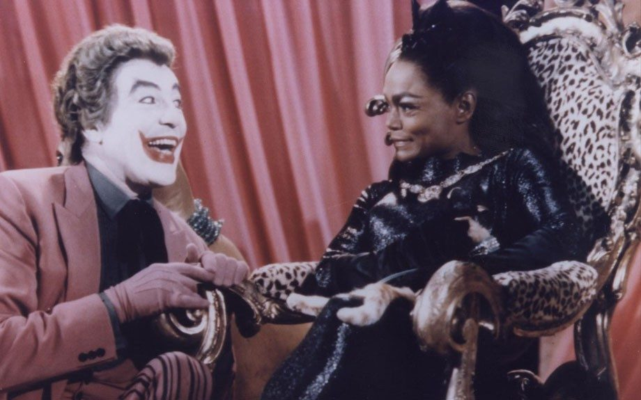 Though technically a villainess, Catwoman has been more like an antihero throughout her DC Comics history. In 1967,Eartha Kitt played her as a bad gal in ABC's <em>Batman</em> series.