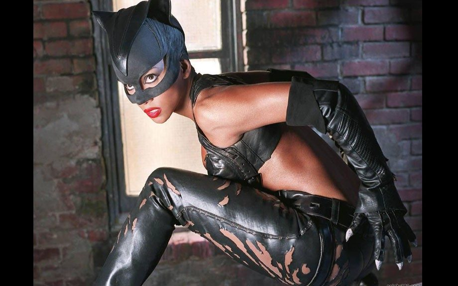 Though the 2004 film flopped,<em>Catwoman</em>starred Halle Berry playing Batman's love-interest nemesis in sexy style.