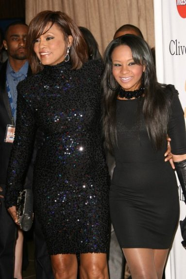 Whitney and Bobbi looked too cute in all black everything.