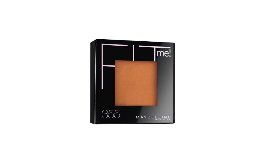 """Maybelline FIT ME Pressed Powder ($7.99,<a href=""""http://www.maybelline.com"""" target=""""_blank"""">http://www.maybelline.com</a>)"""
