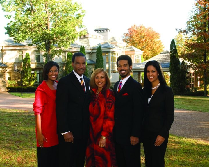 Dr. Boyd III and family