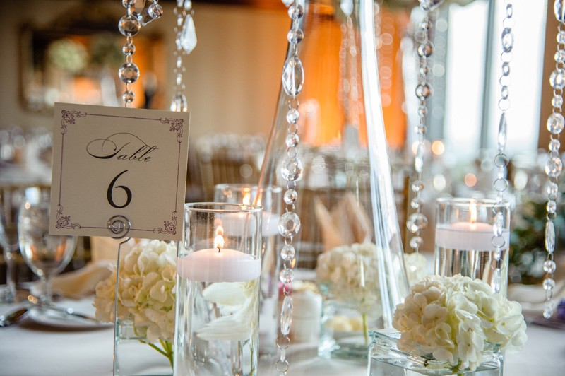 The guests had to have felt so amazing at these lovely tables.