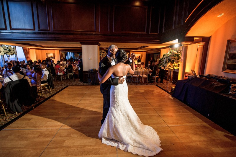 The first dance, but certainly not the last.