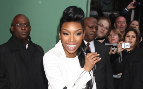 THIS DAY IN FASHION: Brandy's Celine Boston Tote