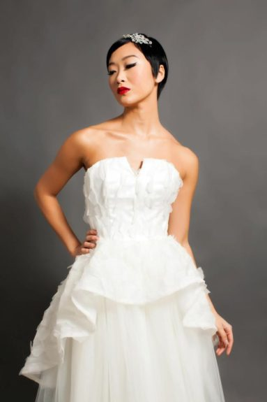 """<p class=""""p1""""> The beautiful Stacie Gown by Pantora Bridal"""