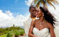 BLACK WEDDING STYLE: Island Love in the Sun