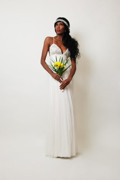 """<p class=""""p1""""> The Lovely Rae Gown by Pantora Bridal"""