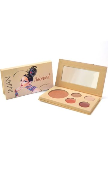 Just in time for the holidays: This chic palette can take you from day to night in a few simple steps. IMAN Cosmetics Adorned Kit ($10; imancosmetics.com)