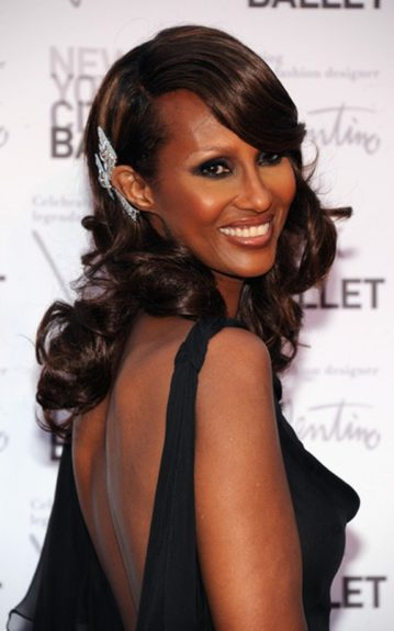 """Living Legend: """"I was awestruck by just how incredibly beautiful, elegant and really regal she [Iman] is."""""""