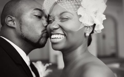 [BLACK WEDDING STYLE] A 1920s Inspired Ceremony With a Touch of… Batman?