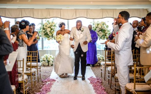Black Wedding Style: Love From the Penthouse View