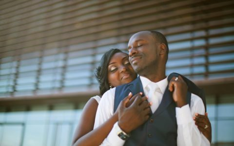 [BLACK WEDDING STYLE] Love Across the Continent