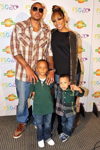Shannon Brown and stepsons, Rocko and Romelo