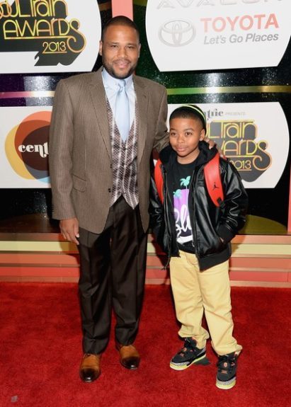 Anthony Anderson and son, Nathan