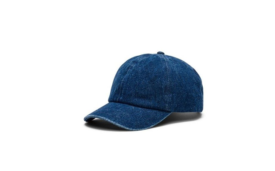 "No, but really... this cap is pretty cool. Chambray Baseball Cap by Club Monaco ($39.50, <a href=""http://www.clubmonaco.com/product/index.jsp?productId=25077556"">clubmoncao.com</a>)"