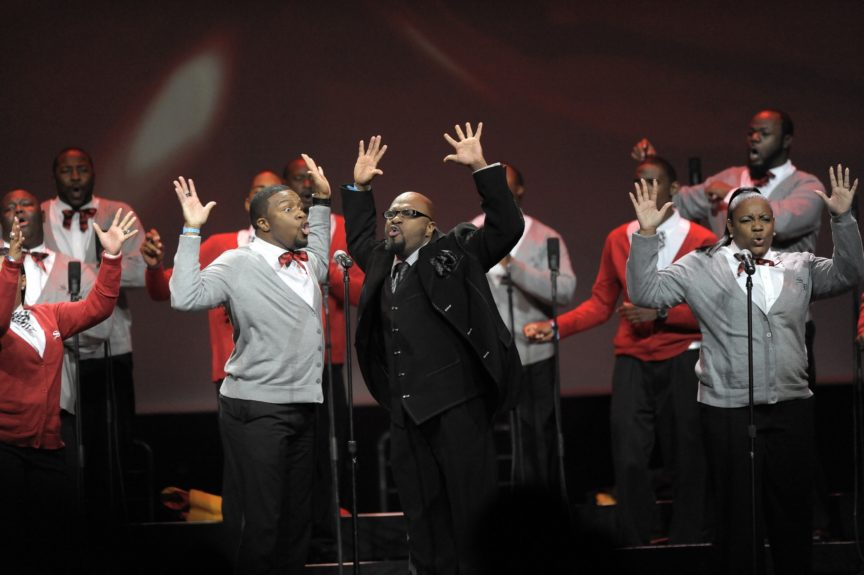 The choirs that bring the crowd to their feet usually walk away with top honors.