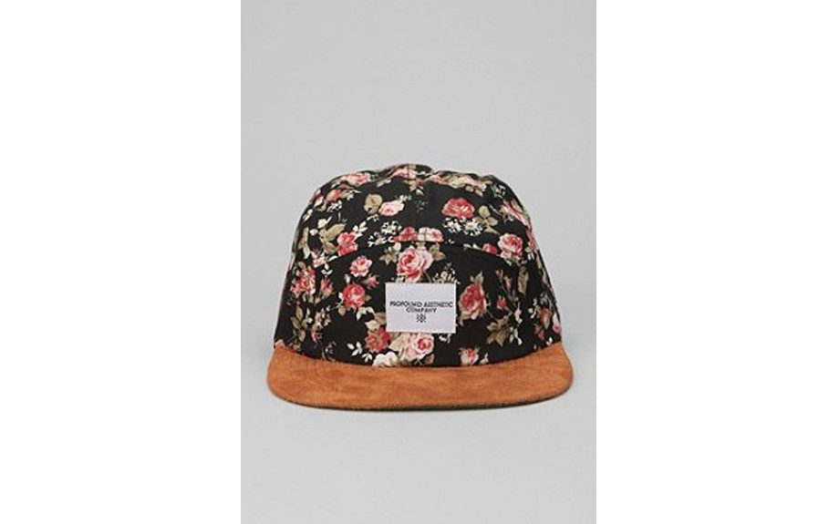"If you can get past flowers being on your hat, you may realize just how fresh it really is. Profound Aesthetic Portland 5-Panel Hat ($42.00, <a href=""http://www.urbanoutfitters.com/urban/catalog/productdetail.jsp?id=25849092&parentid=M_ACC_HATS"">urbanoutfitters.com</a>)"