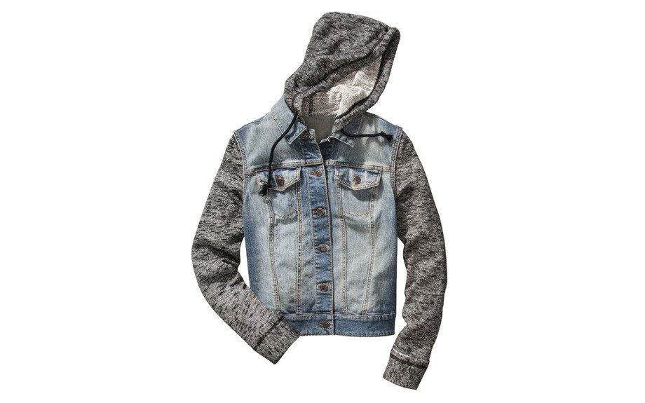 Mossimo Supply Co. Hooded Denim Jacket, $34.99