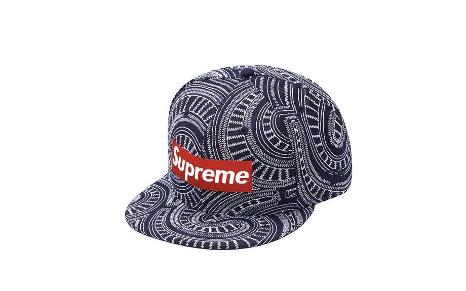 "You gotta have something with a Supreme stamp on it. Supreme Uptown Box Logo New Era ($54.00, <a href=""http://www.supremenewyork.com/shop/hats/uptown-box-logo-new-era/navy"">supremenewyork.com</a>)"