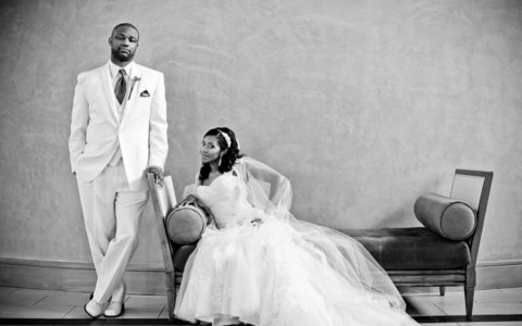 Black Wedding Style: The All-Star Love Duo
