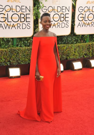 "<span id=""TopMasterPlaceHolder_ContentPlaceHolder1_lblAssetCaption"">January 12, 2014: Lupita Nyong'o arriving at the 71st annual Golden Globes Award show at the Beverly Hills Hilton in Los Angeles. Mandatory Credit: Peter West/ACE/INFphoto.com Ref: infusny-220</span>"
