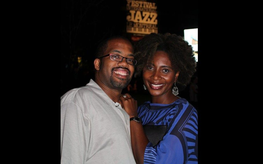 "Carl and Kenya love jazz. He proposed to her at a Cassandra Wilson concert in the traditional ""on-one-knee"" fashion."
