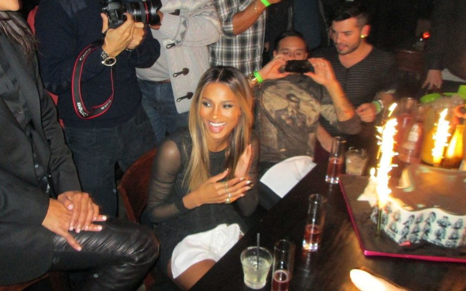 Ciara celebrated her big night in style. Photo Courtesy of allthingsbuttah.com